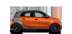 Smart forfour 2014-2021 новый кузов комплектации и цены