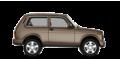 LADA (ВАЗ) 4x4 (2121) Urban 3дв - лого